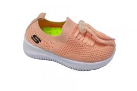 کفش کتونی بچه گانه جورابی مدل اسکیچرز کد547
