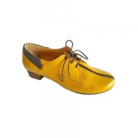 کفش  مجلسی زنانه چرم طبیعی دست دوز تبریز کد 639