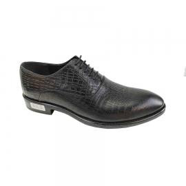 کفش مجلسی مردانه چرم طبیعی تبریز کد 662