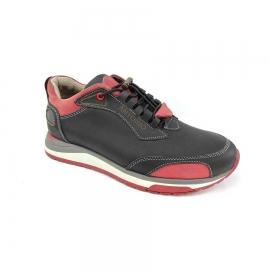 کفش کتونی مردانه چرم طبیعی  تبریز کد 670