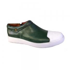 کفش اسپرت طبی راحتی مردانه چرم طبیعی تبریز کد 712