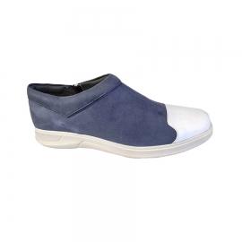 کفش اسپرت طبی راحتی مردانه چرم طبیعی تبریز کد713