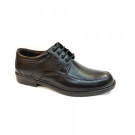 کفش مجلسی مردانه بزرگ پا چرم طبیعی تبریز کد 752
