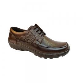 کفش طبی راحتی مردانه بزرگ پا چرم طبیعی تبریز کد 756