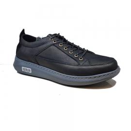 کفش اسپرت طبی راحتی مردانه چرم طبیعی تبریز کد 760