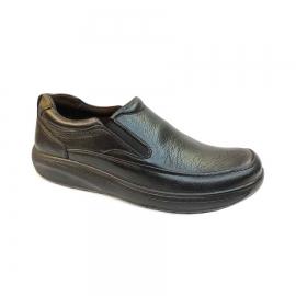 کفش طبی راحتی مردانه بزرگ پا چرم طبیعی تبریز کد 766