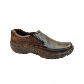 کفش طبی راحتی مردانه بزرگ پا چرم طبیعی تبریز کد 767
