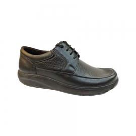 کفش طبی راحتی مردانه بزرگ پا چرم طبیعی تبریز کد 768