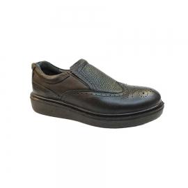 کفش مجلسی مردانه چرم طبیعی تبریز کد 773