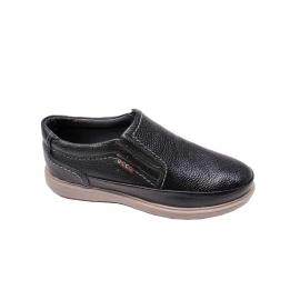 کفش طبی راحتی مردانه چرم طبیعی تبریز کد 804
