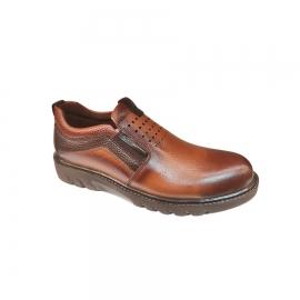 کفش طبی راحتی مردانه چرم طبیعی تبریز کد 812