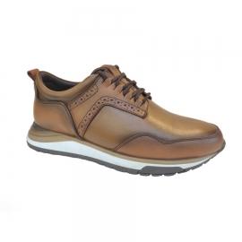 کفش اسپورت مردانه چرم طبیعی تبریز کد 825