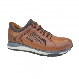 کفش اسپورت مردانه چرم طبیعی تبریز کد 826