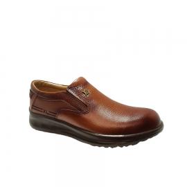 کفش طبی راحتی مردانه  کوچک پا چرم طبیعی تبریز کد 830