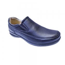 کفش طبی راحتی مردانه چرم طبیعی تبریز کد 846