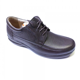 کفش طبی راحتی مردانه چرم طبیعی تبریز کد 847