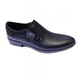 کفش مجلسی مردانه چرم طبیعی تبریز کد 853