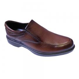 کفش طبی راحتی مردانه چرم طبیعی تبریز کد 854
