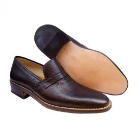 کفش مجلسی مردانه تمام چرم طبیعی گاوی تبریز کد 877