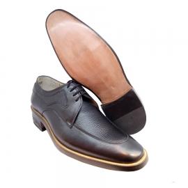 کفش مجلسی مردانه تمام چرم طبیعی گاوی تبریز کد 878