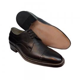 کفش مجلسی مردانه تمام چرم طبیعی گاوی تبریز کد 879