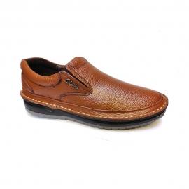 کفش طبی راحتی مردانه چرم طبیعی تبریز کد 915