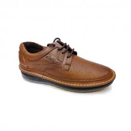 کفش طبی راحتی مردانه چرم طبیعی تبریز کد 916