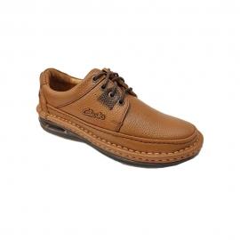 کفش طبی راحتی مردانه چرم طبیعی تبریز کد 919