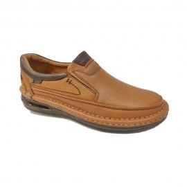 کفش طبی راحتی مردانه چرم طبیعی تبریز کد920