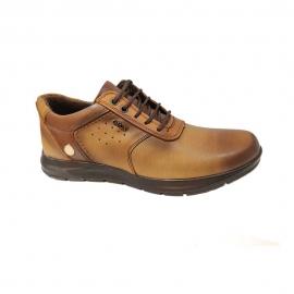 کفش اسپورت مردانه چرم طبیعی تبریز کد 924