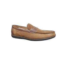 کفش کالج مردانه چرم طبیعی تبریز مدل  کد 952