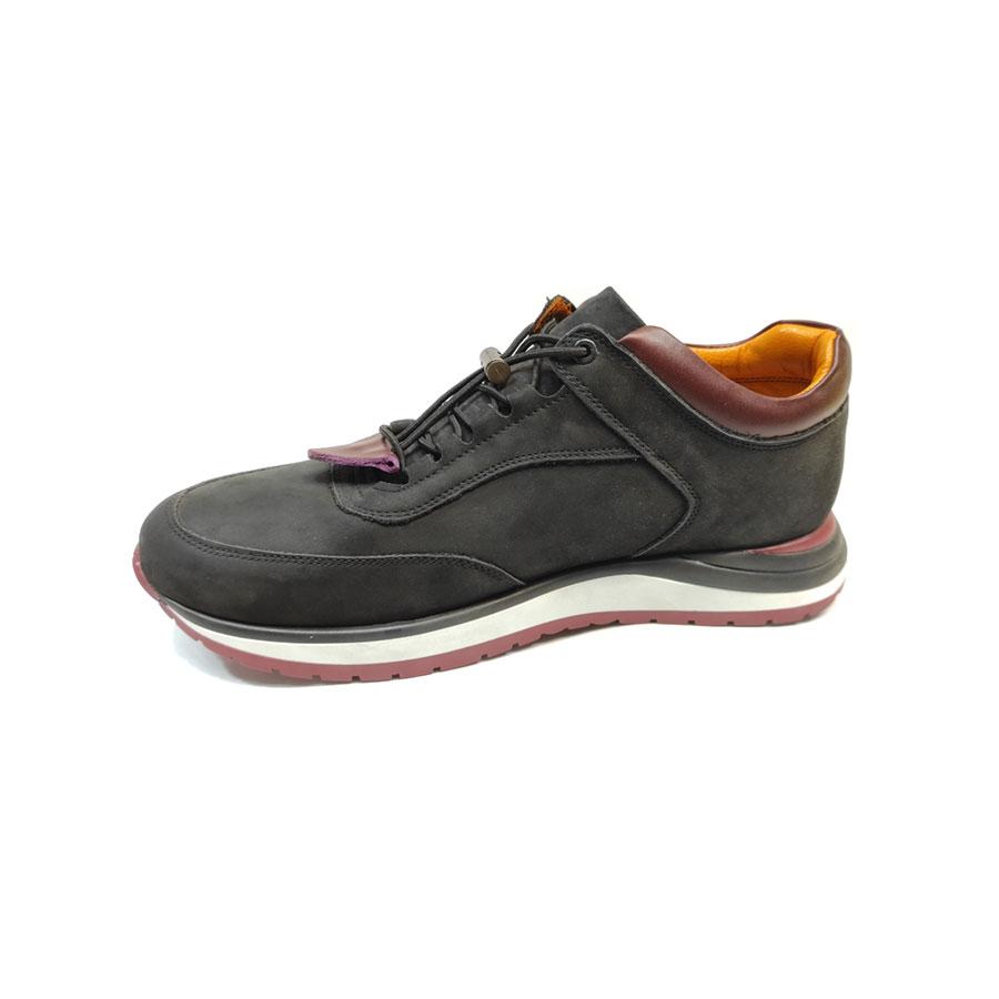 کفش کتونی مردانه چرم طبیعی  تبریز کد 692