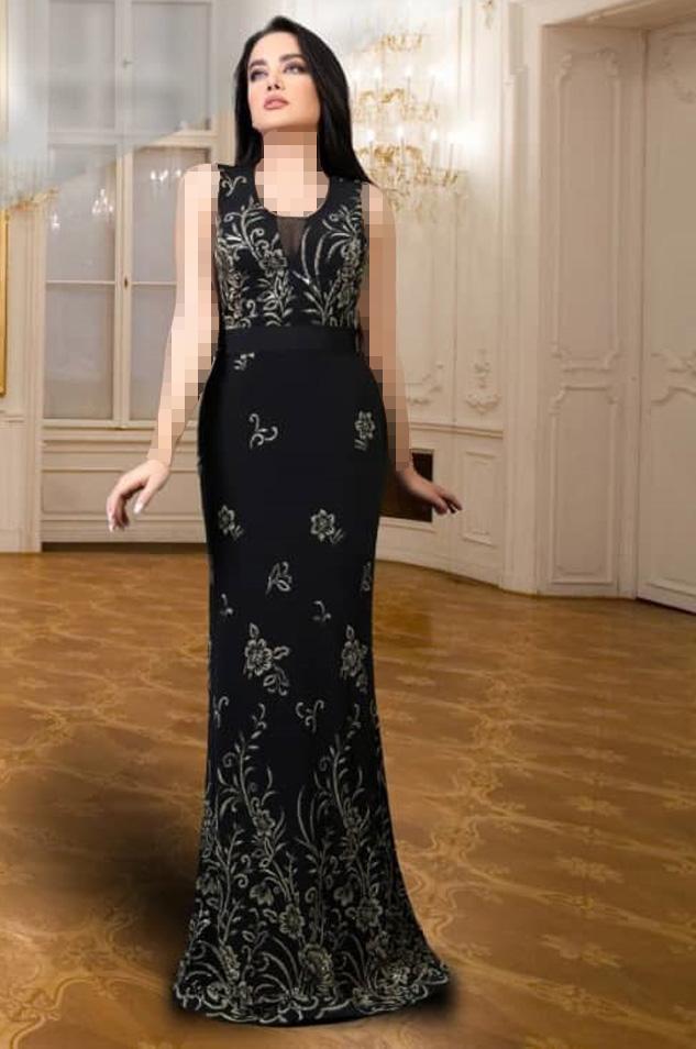 لباس مجلسی زنانه مشکی